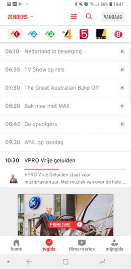 TVGids.nl zenders