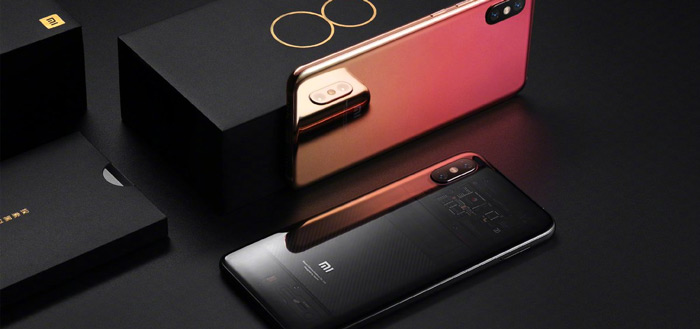 Xiaomi gaat high-end Xiaomi Mi 8 Pro in Europa uitbrengen