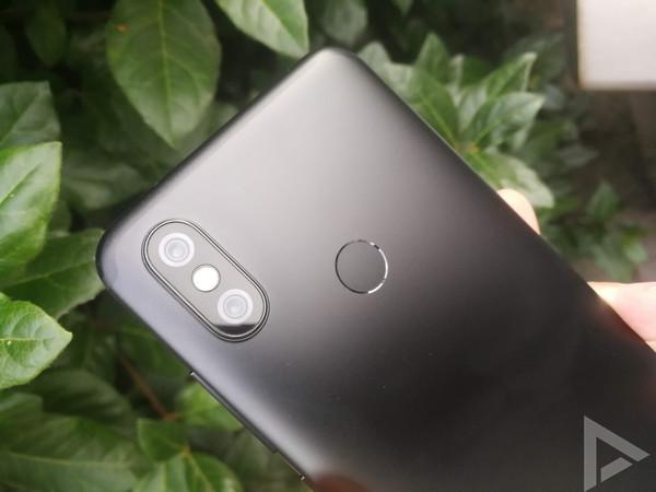 Xiaomi Mi A2 camera vingerafdrukscanner