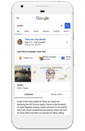 Google Maps reis