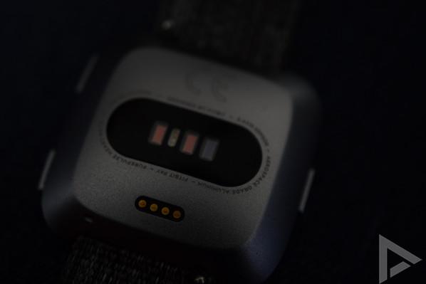 Fitbit Versa sensor