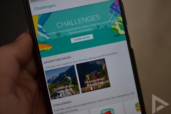 Fitbit Versa challenges