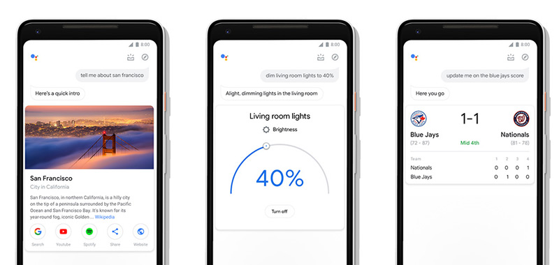Google Assistent design