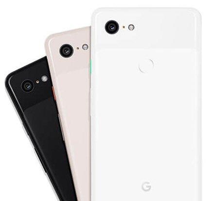 Google Pixel 3 achterkant