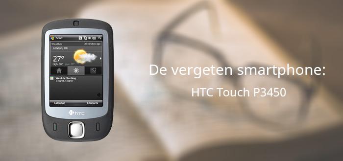 De vergeten smartphone: HTC Touch P3450