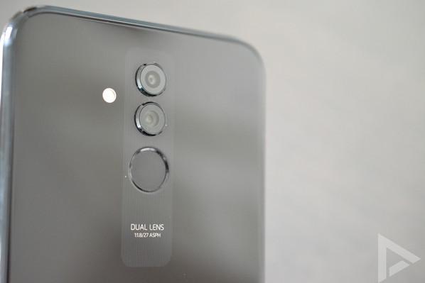 Huawei Mate 20 Lite vingerafdrukscanner