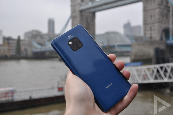 Huawei Mate 20 Pro achterkant