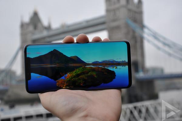 Huawei Mate 20 Pro beeldscherm