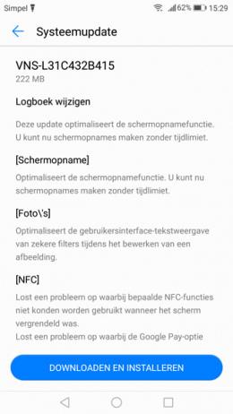 Huawei P9 Lite B415 update