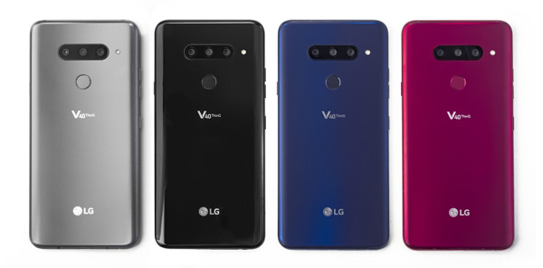 LG V40 ThinQ achterkant