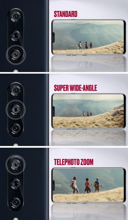 LG V40 triple-camera