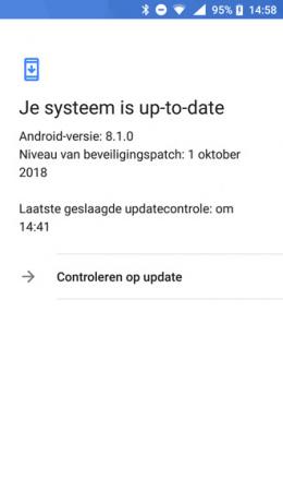 Nokia 6 beveiligingsupdate oktober 2018