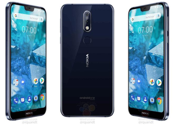 Nokia 7.1 foto
