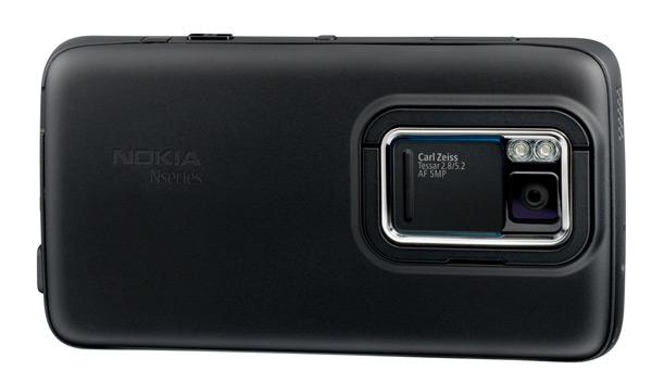 Nokia N900 achterkant
