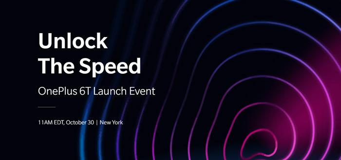 Officieel: OnePlus 6T wordt op 30 oktober aangekondigd