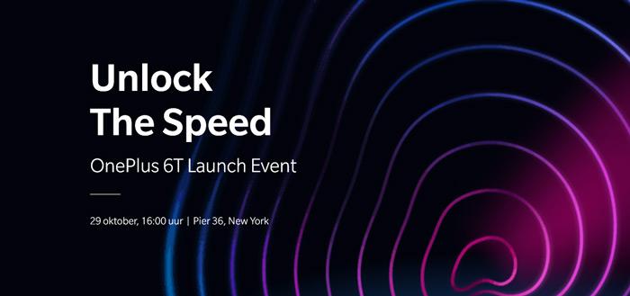 OnePlus 6T livestream: volg hier de aankondiging
