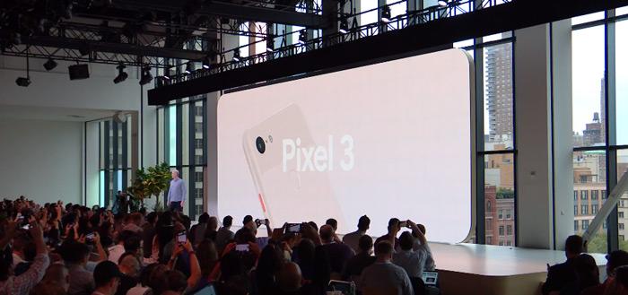 Pixel 3 en Pixel 3 XL aangekondigd: alle details, specificaties en informatie