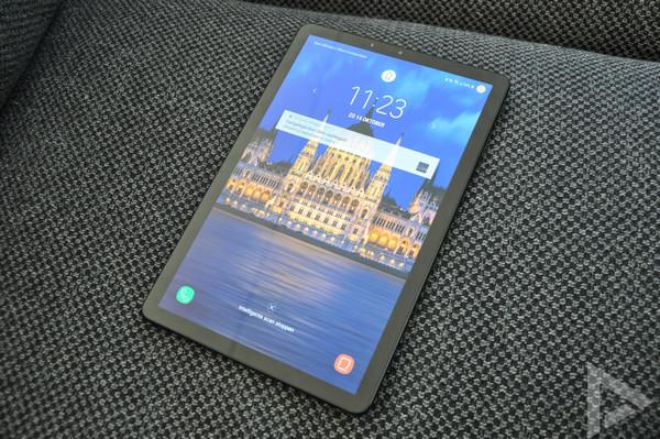 Samsung Galaxy Tab S4 vergrendelscherm