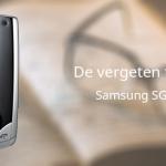 De vergeten telefoon: Samsung U700
