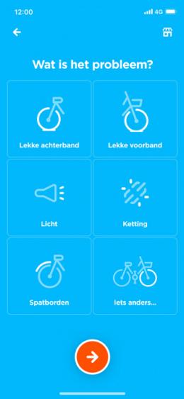 Swapfiets app