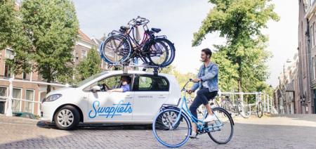 Swapfiets app: nooit meer je band plakken en andere reparaties aan je fiets