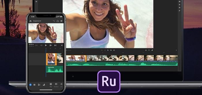 Adobe Premiere Rush CC videobewerking-app in 2019 naar Android