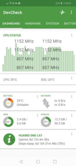 DevCheck app