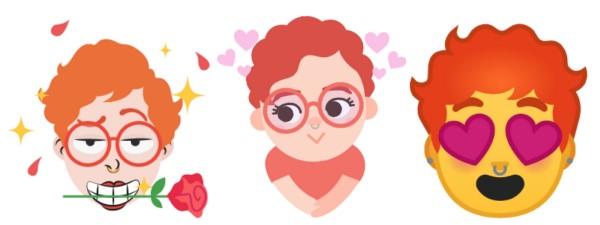 Mini emoji Gboard