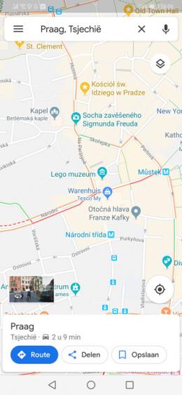 Google Maps Praag