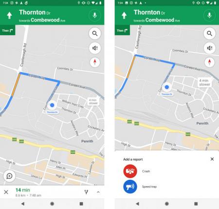 Google Maps melding maken