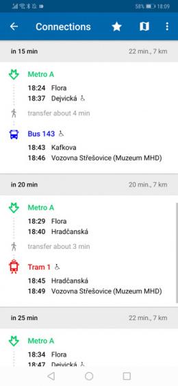 openbaar vervoer praag app