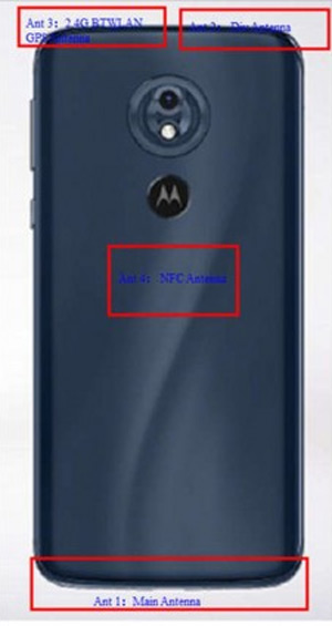 Moto G7 power fcc
