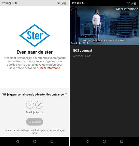 NOS app video reclame