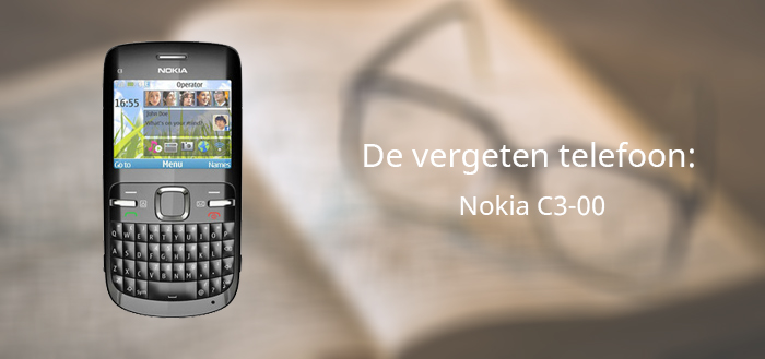De vergeten telefoon: Nokia C3-00