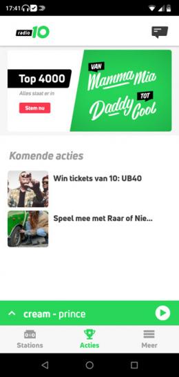 Radio 10 app