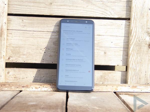 Samsung Galaxy J6 Plus instellingen