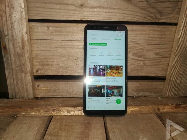 Samsung Galaxy J6+ plaatsen dialer