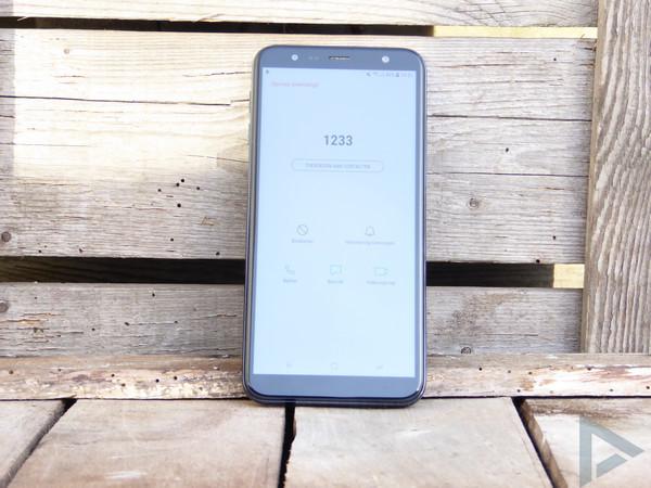 Samsung Galaxy J6+ dialer