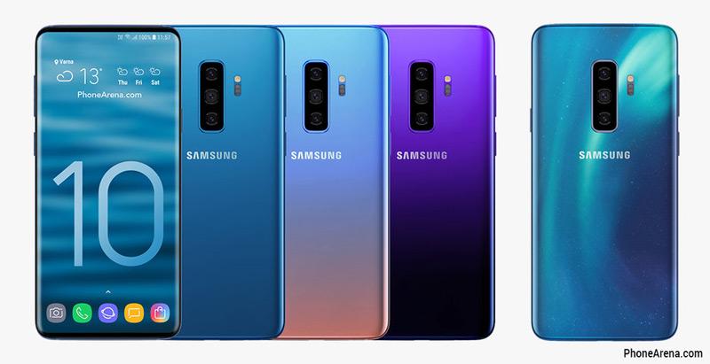 Samsung Galaxy S10 Kleuren