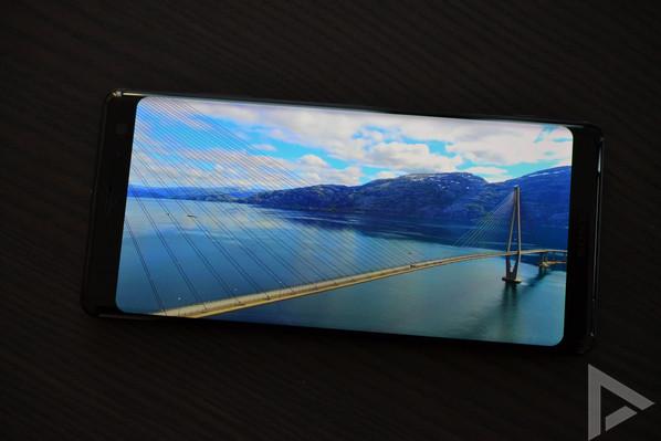 Sony Xperia XZ3 video