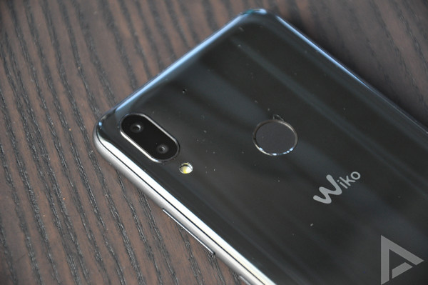 Wiko View 2 Plus vingerafdrukscanner