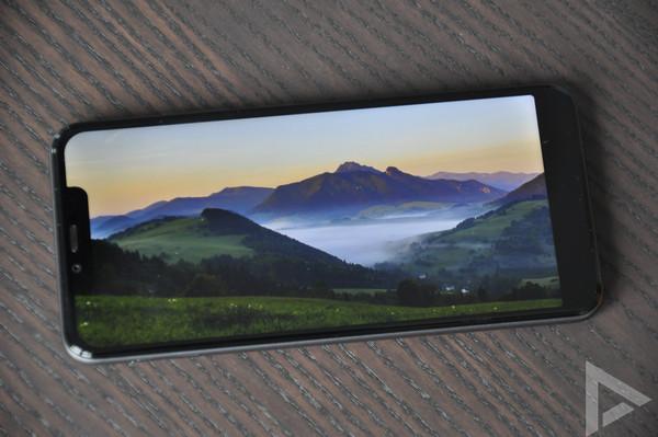 Wiko View 2 Plus beeldscherm