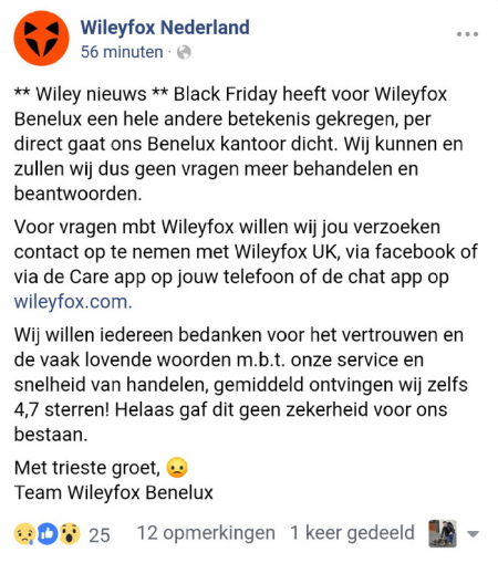 Wileyfox Benelux
