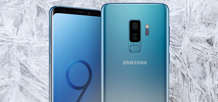 Samsung Galaxy S9 verschijnt in nieuwe kleur Ice Blue