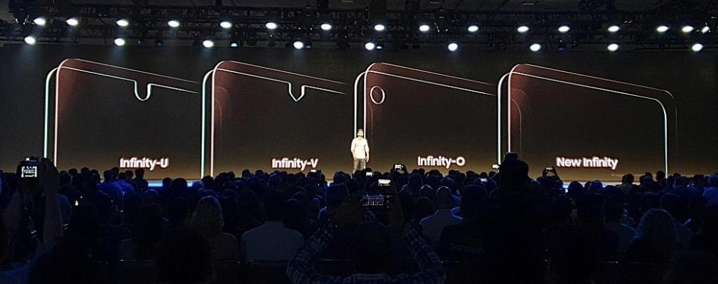 Samsung infinity schermen met notch