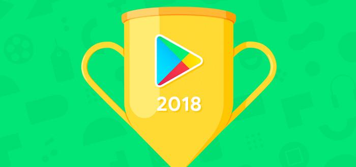 Google Play Best of 2018: dit is de beste content volgens Google