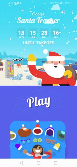 Google Santa Tracker 2018