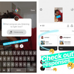 Instagram Stories muziek sticker