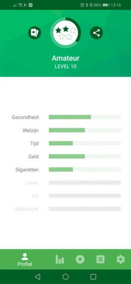 Kwit stoppen roken app