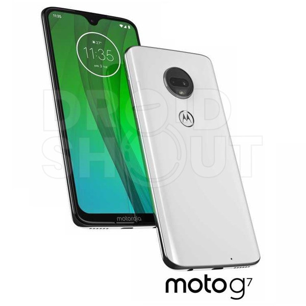 Moto G7 persfoto